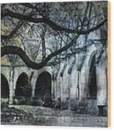 Saint Severin Parish Paris France Wood Print