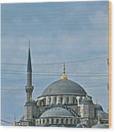 Saint Sophia's In Istanbul-turkey Wood Print