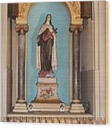 Saint Therese Of Lisieux Wood Print