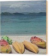Saint Thomas Beaches Wood Print