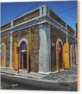 Saint Thomas - Charlotte Amelie 005 Wood Print by Lance Vaughn