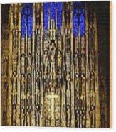 Saint Thomas Church  Wood Print