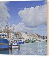 Saint Vaast La Hougue Normandy France Wood Print