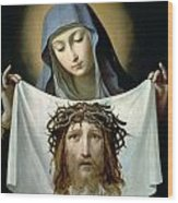 Saint Veronica Wood Print by Guido Reni