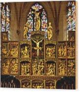 Sainte Croix - Kaysersberg France Wood Print