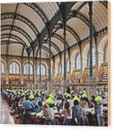Sainte Genevieve Library Wood Print