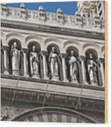 Saints Cathedral De La Major Wood Print