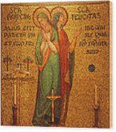 Saints Perpetua And Felicitas Altar Wood Print