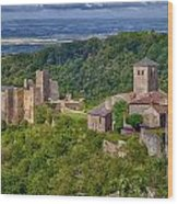 Saissac France Color Img 7740 Wood Print