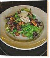 Salad Wood Print