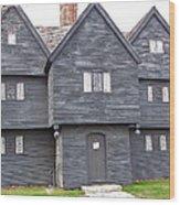 Salem Witch House Wood Print