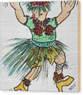 Sales Fairy Dancer 2 Wood Print