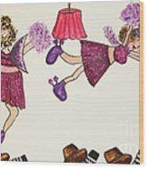 Sales Fairy Dancer 5 Wood Print