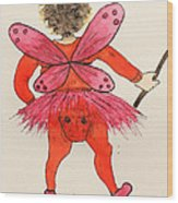 Sales Fairy Dancer 1 Wood Print