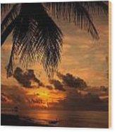 Salida Del Sol Wood Print