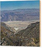 Saline Valley Panorama Wood Print