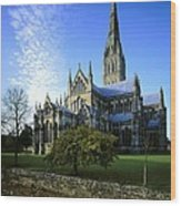 Salisbury Cathedral. 1220-1258. United Wood Print