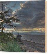 Salish Storm Wood Print