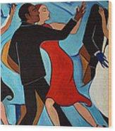 Salle De Danse Wood Print