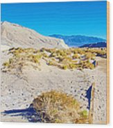 Salt Creek Boardwalk Trail In Death Valley National Park-california  Wood Print
