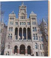 Salt Lake City - City Hall - 2 Wood Print