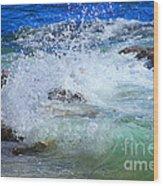 Salt Water Serenade Wood Print