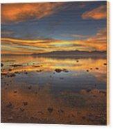 Salton Sea Color Wood Print