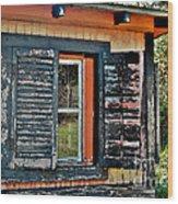 Saluda Cross Roads II Wood Print