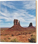 Saluting Sentinels Wood Print