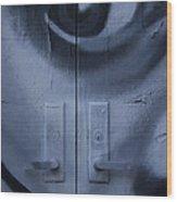 Salvador Dali Doors Graffiti Art Wood Print