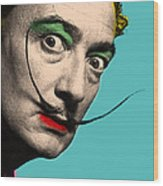 Salvador Dali Wood Print