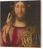 Salvador Mundi Wood Print