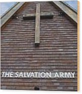Salvation Wood Print by Doug Wilton