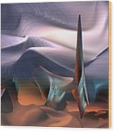Salvator Dali Atmosphere Wood Print