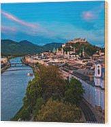Salzburg 04 Wood Print