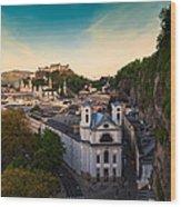 Salzburg 06 Wood Print