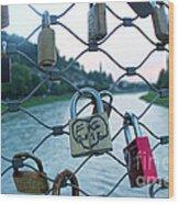 Salzburg Gypsy Locks Wood Print