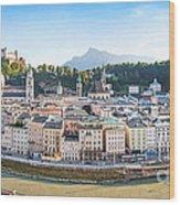 Salzburg Wood Print
