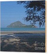 Sam Roi Yod Beach 03 Wood Print