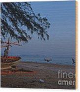 Sam Roi Yod Beach 04 Wood Print