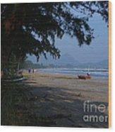 Sam Roi Yod Beach Wood Print