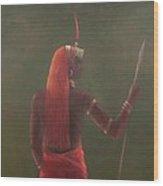 Samburu, 2012 Acrylic On Canvas Wood Print