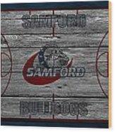 Samford Bulldogs Wood Print