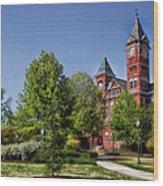 Samford Hall - Auburn University Wood Print