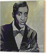 Sammy Davis Jr. Wood Print