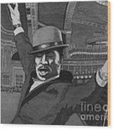 Sammy Davis Jr Wood Print