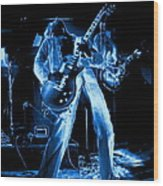 S H Bending A Cosmic Note In Spokane In 1977 Wood Print