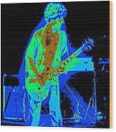 Rocking The Aliens In Spokane 1977 Wood Print