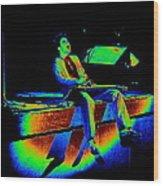 S H Rocks Spokane 1977 Wood Print