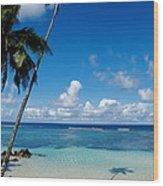 Samoan Paradise Wood Print